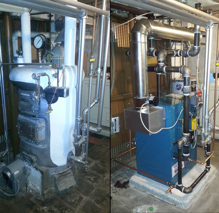 Steam Heating Systems, Burnham Independence - Mathews & Son Plumbing